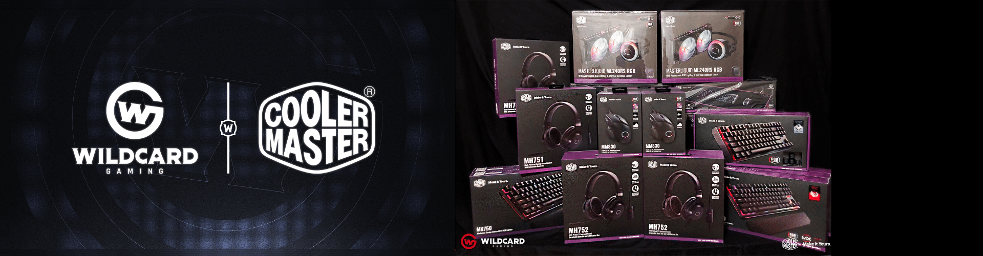 Wildcard Gaming World of Warcraft Partners with Cooler Master!!!