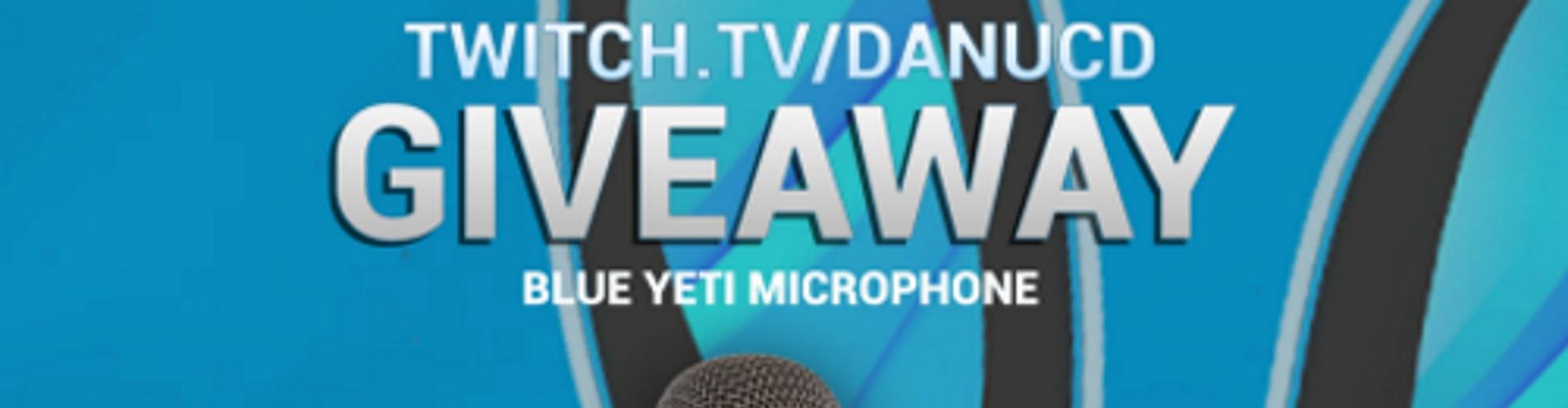 Danucd Blue Yeti Nano Mic Giveaway!!!