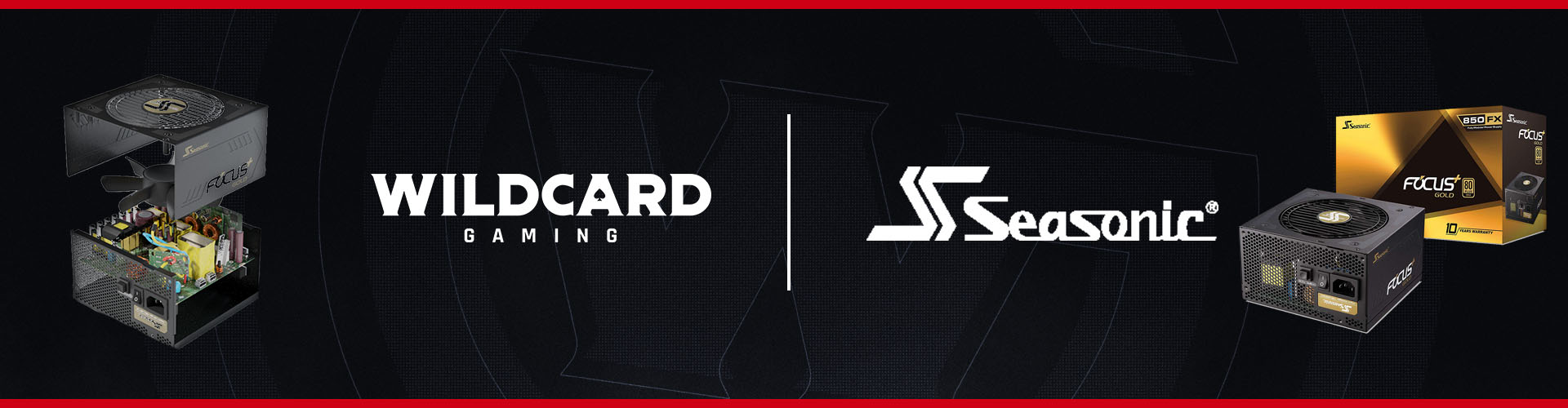 Wildcard Gaming Welcomes Seasonic Electronics as our Latest Partner!!!