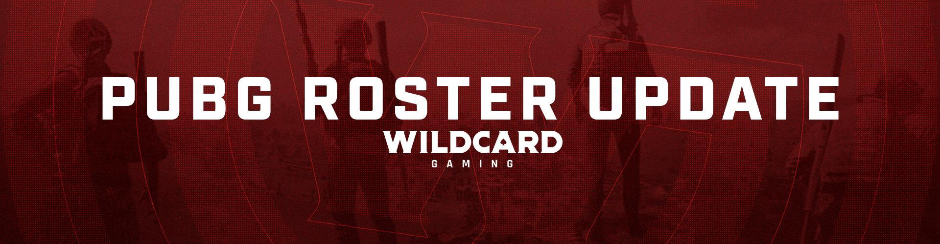 Wildcard PUBG Roster Update