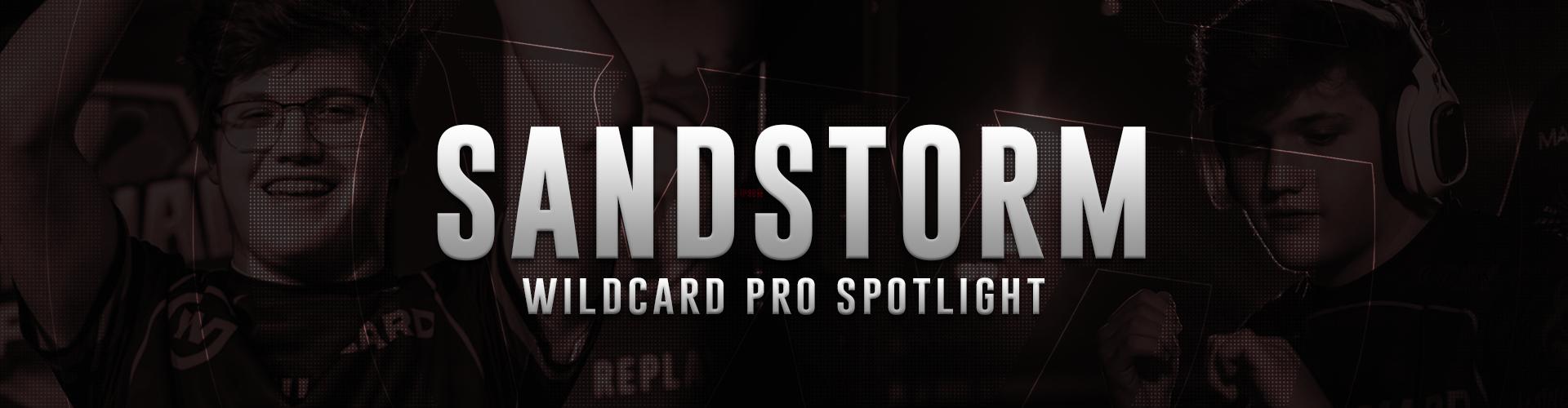 Pro Spotlight: Sandstorm