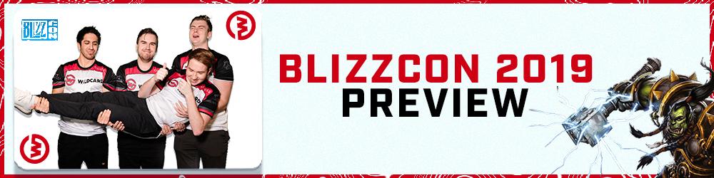 Blizzcon 2019 Preview