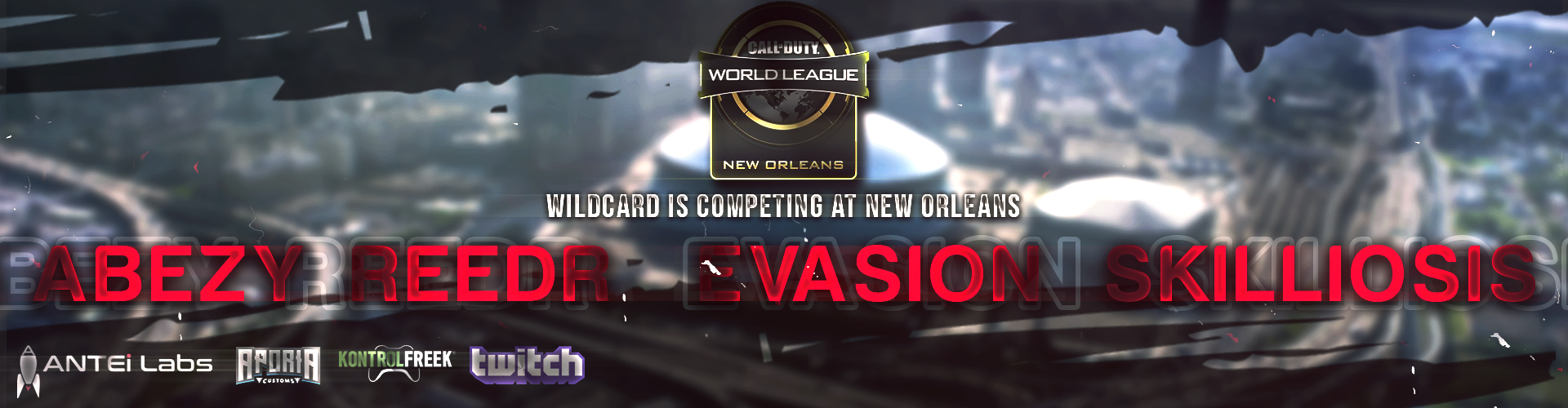 Wildcard's Call of Duty Team is on the Road to New Orleans!