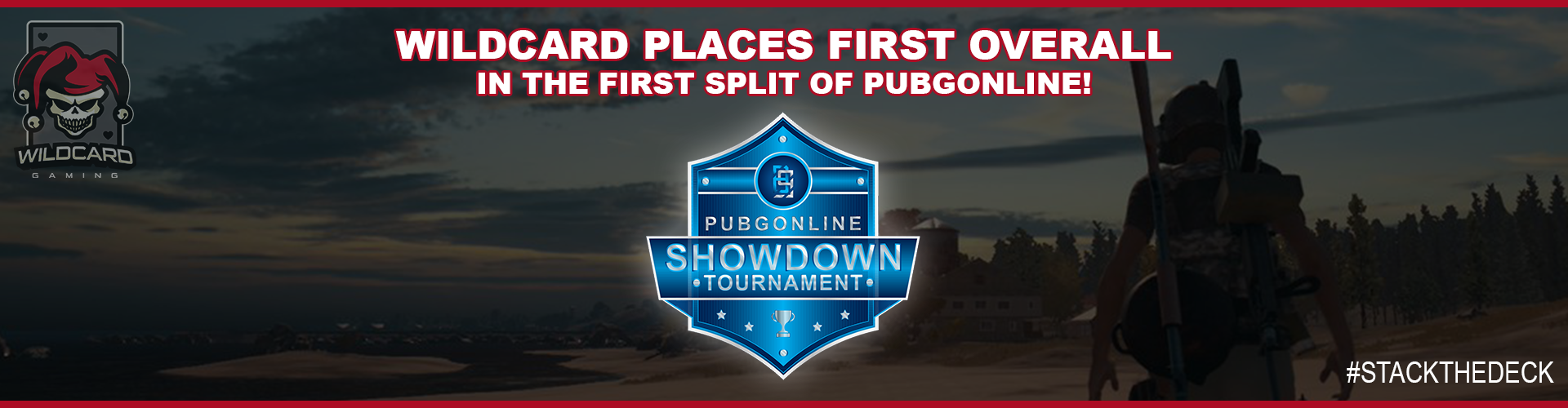 Wildcard Places First Overall In The First Split of PUBGOnline!